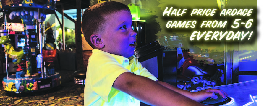 YELLOW SHIRT KID ARCADE